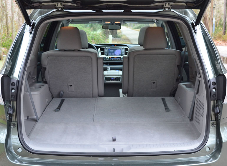 more cargo space in 2015 highlander autos post. Black Bedroom Furniture Sets. Home Design Ideas