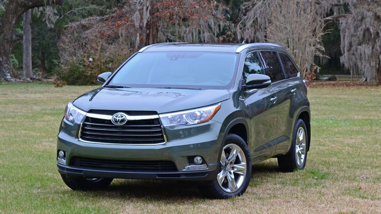 2014 Toyota Highlander Quick Adventure Drive and Review