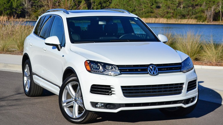 2014 Volkswagen Touareg V6 R-Line Review & Test Drive