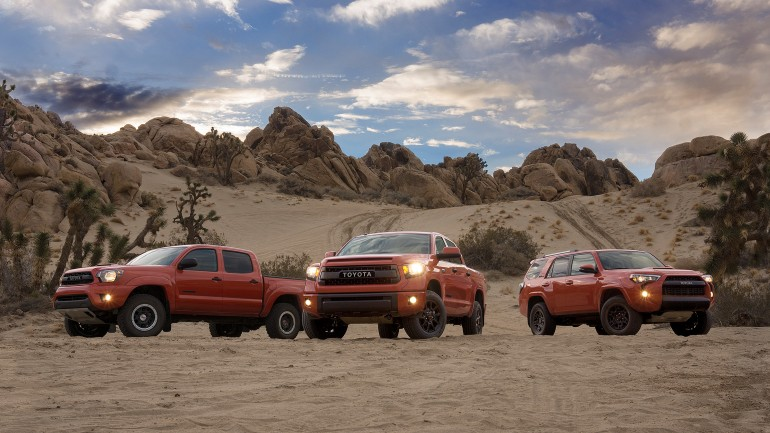 Toyota Introduces All-New TRD Pro Series Tundra, Tacoma and 4Runner at 2014 Chicago Auto Show