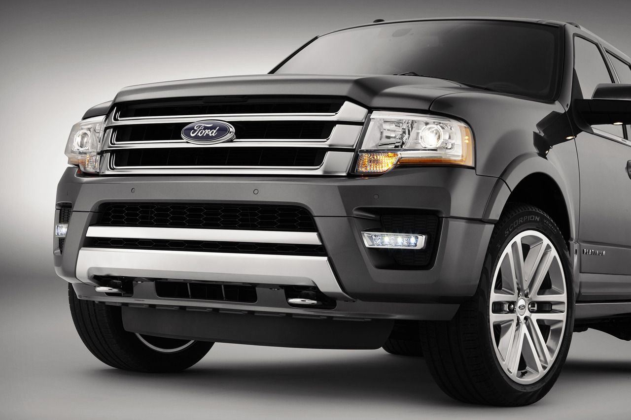 Ford reveals 2015 expedition with ecoboost engine advanced technology new platinum series