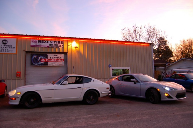 240z and Scion FR-S 10 Series