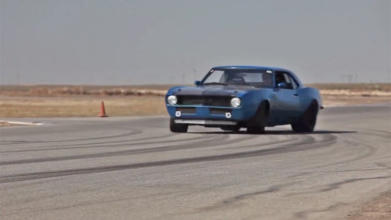 Coachbuilt 700HP 1968 Camaro Tested by Mike Musto on DRIVE's Big Muscle: Video