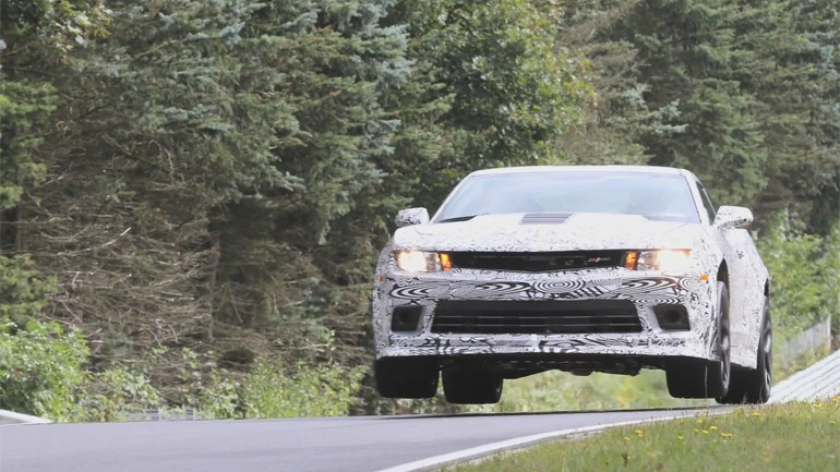 Video: Chevrolet Camaro Z/28 Gets Flying Car Mode – Disables Traction Control When Airborne