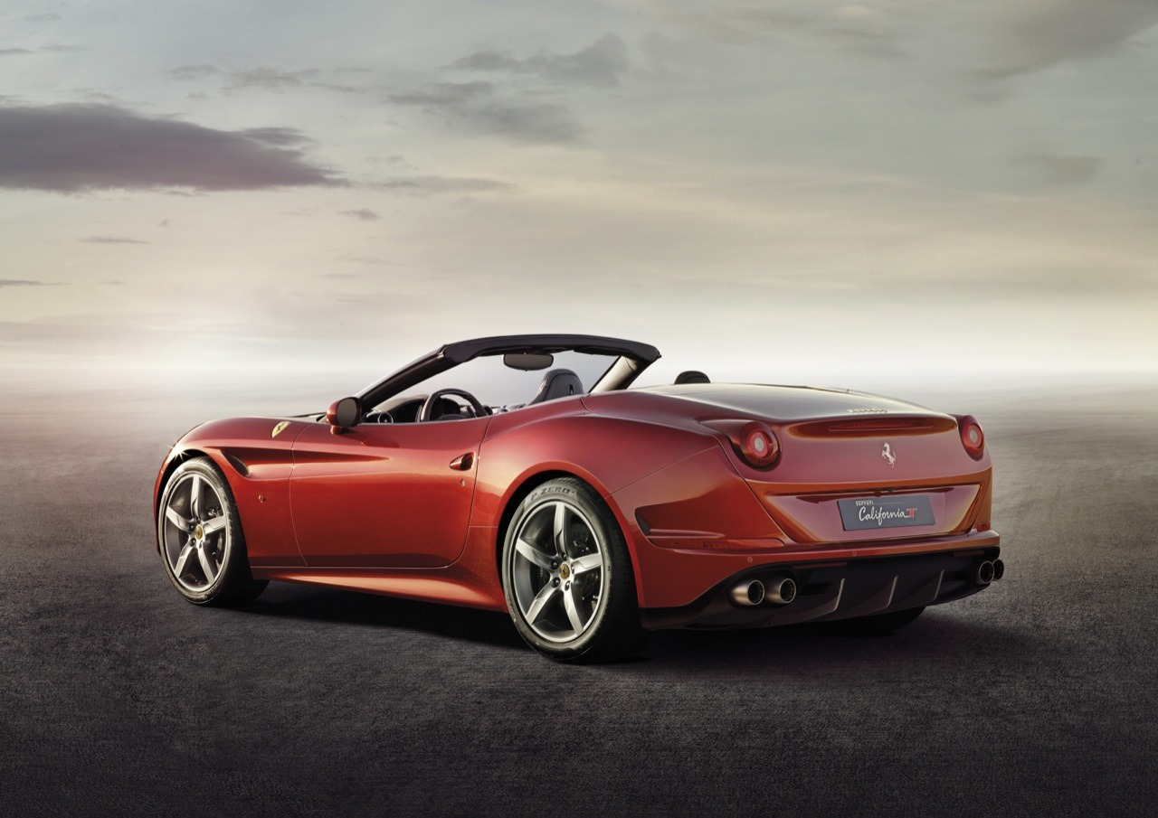 ferrari unleashes turbocharged and topless 2015 california t preview. Black Bedroom Furniture Sets. Home Design Ideas