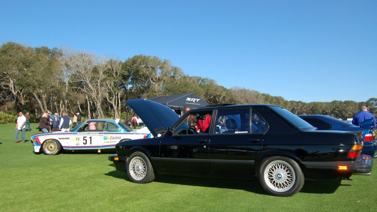 Cars and Coffee at the Amelia Island Concours d'Elegance