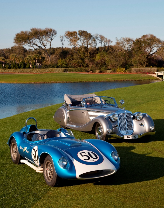 2014 Amelia Island Concours Best of Show - Photo Credit Neil Rashba - lr