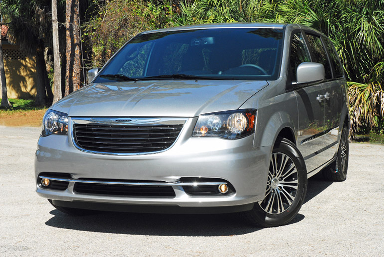 2014 Chrysler Town Amp Country S Review Amp Test Drive