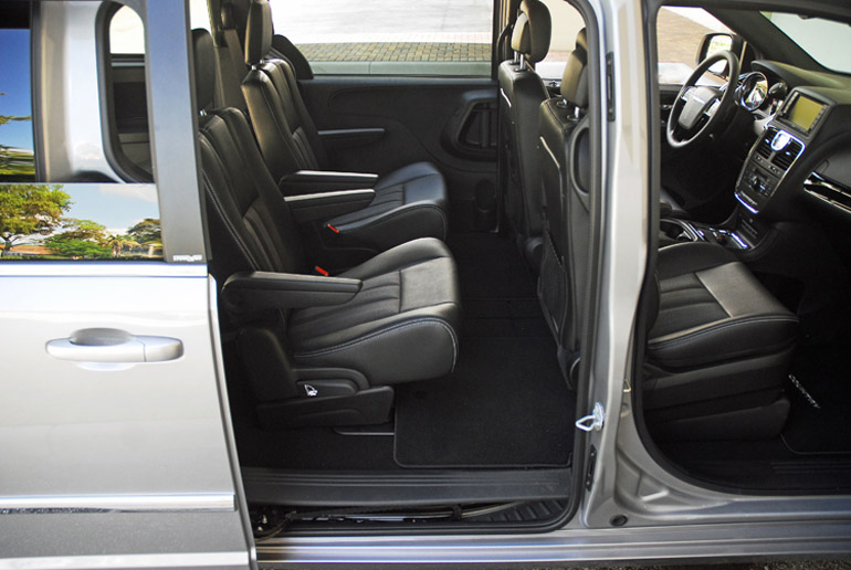 2014 Chrysler TC Rear Seats Done Small