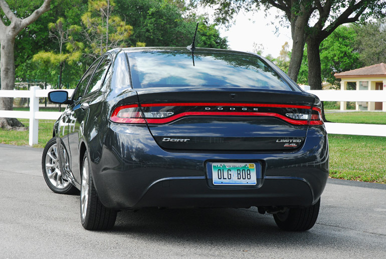 2014 Dodge Dart Limited Beauty Rear Done Small