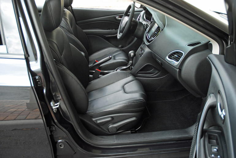 2014 Dodge Dart Limited Front Seats Done Small