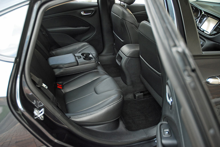 2014 Dodge Dart Limited Rear Seats Done Small