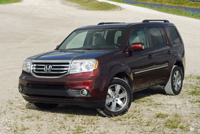 2014 Honda Pilot AWD Touring Beauty Right Clear Done Small