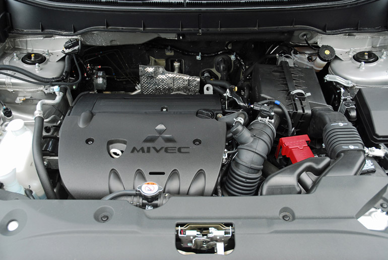 2014 Mitsubishi Outlander Sport Engine Done Small