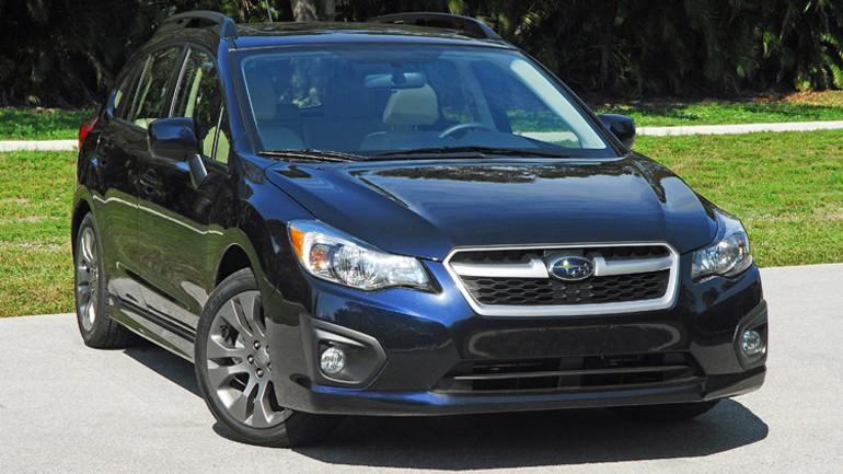 2014 Subaru Impreza 2.0i 5-Door Limited Review & Test Drive