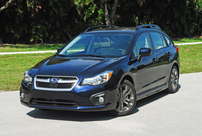 2014 subaru impreza 5 door limited review test drive. Black Bedroom Furniture Sets. Home Design Ideas