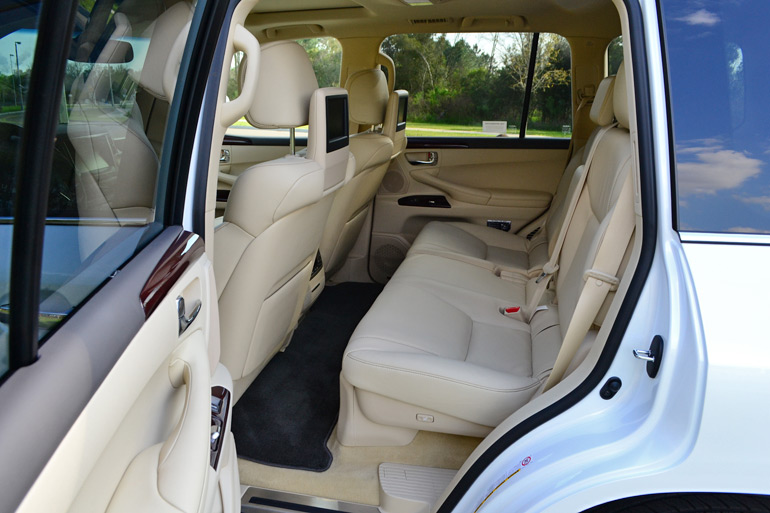 Vehicles With 3rd Row Seating >> 2014 Lexus LX 570 Review & Test Drive