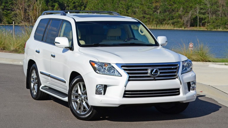 2014 Lexus LX 570 Review & Test Drive