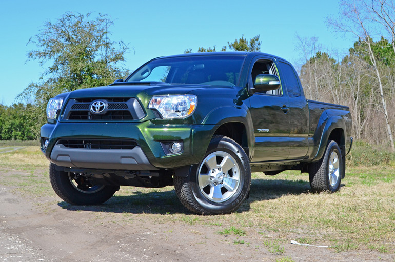 2014 toyota tacoma prerunner access cab trd quick spin back to the future. Black Bedroom Furniture Sets. Home Design Ideas