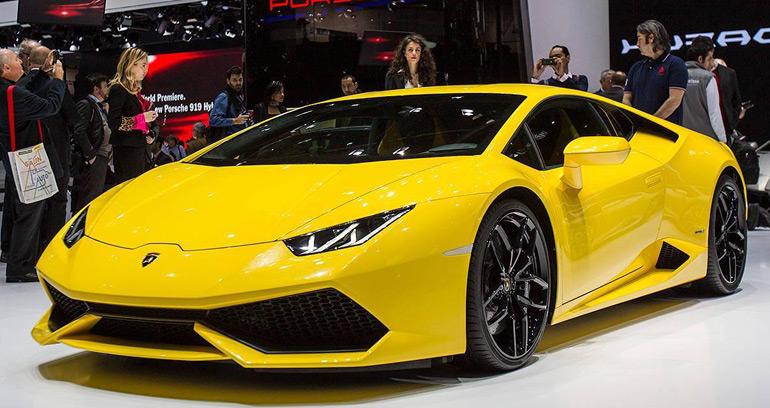2015 Lamborghini Huracán LP610-4 Makes Debut at 2014 Geneva Auto Show