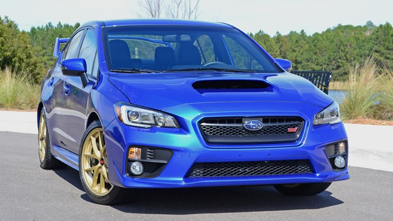 2015 Subaru WRX STI Review & Test Drive