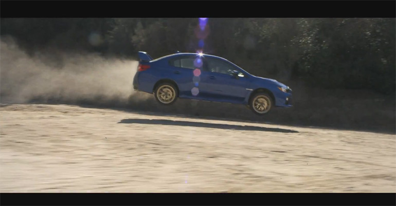 "2015 Subaru WRX STI Promo Gets ""The Ride of Her Life"" Trailer Video"