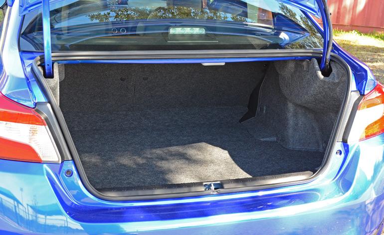 2015 Subaru Wrx Sti Trunk
