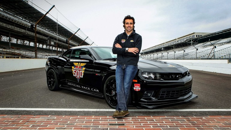 Dario Franchitti to Drive Camaro Z/28 Indy 500 Pace Car
