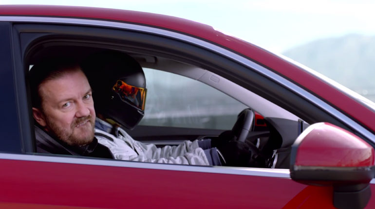 2015 Audi A3 Commercial With Ricky Gervais is Made of Champions: Video