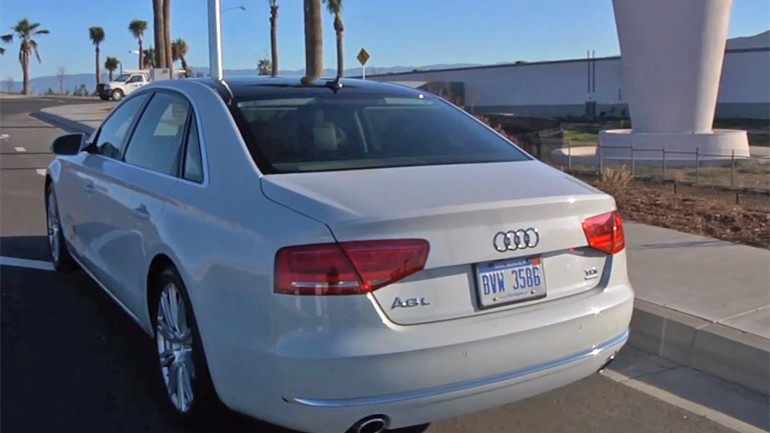 Audi A8 TDI Has Range for Days – 867 Miles to be Exact: Video