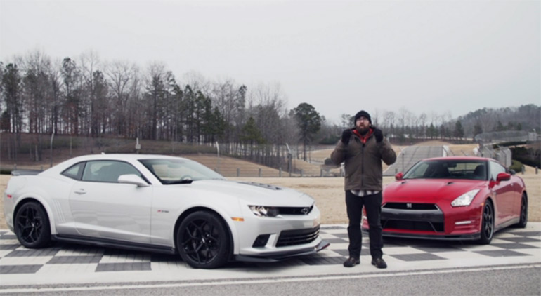 Video: Motor Trend Pits Nissan GT-R Against Camaro Z/28