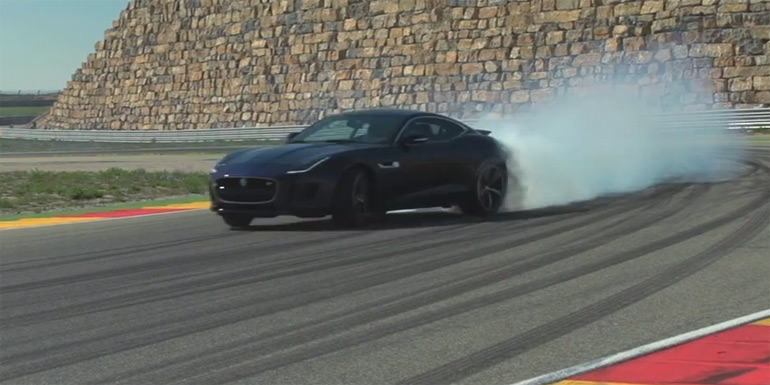 Jaguar F-Type Coupe R Driven by Chris Harris on DRIVE: Video