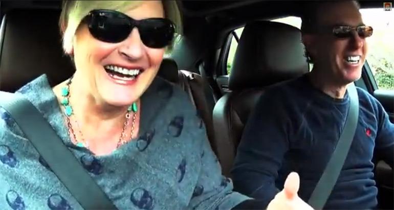 Fireball Tim features Actress Denise Crosby (Star Trek) & the 2014 Chrysler 300 Varvatos 5Minute Drive
