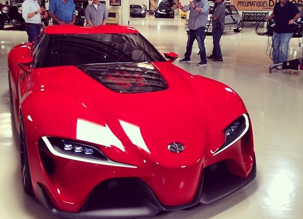 Upcoming: Jay Leno Gets Some Time With Toyota FT-1 Concept