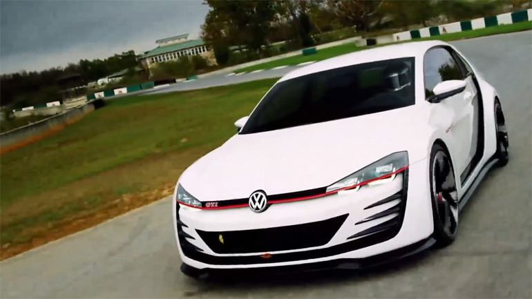 Golf GTI that costs £3.4 Million from Gran Turismo 6 Vision GT: Video