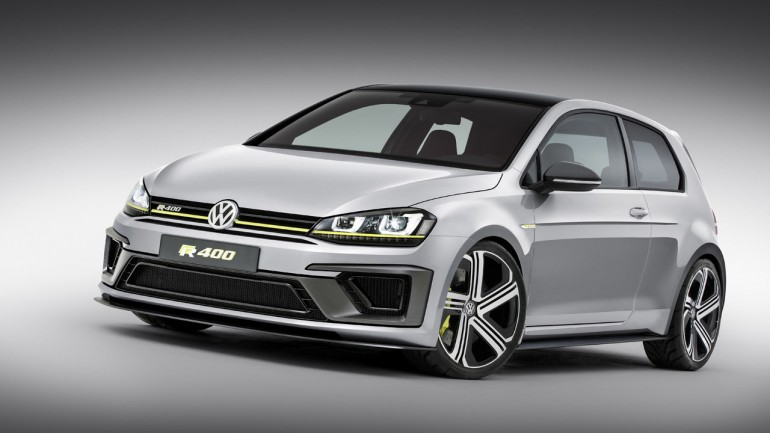 Volkswagen Golf R 400 Concept Gets Our Approval – We Want it Now!