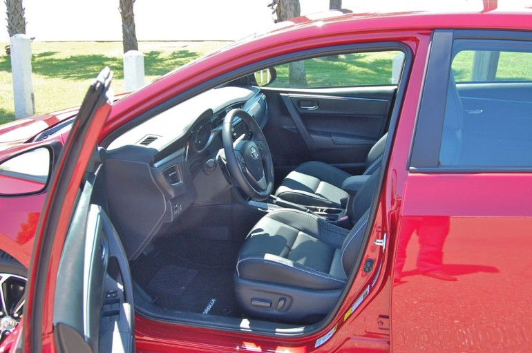 2014 Corolla Front Seats