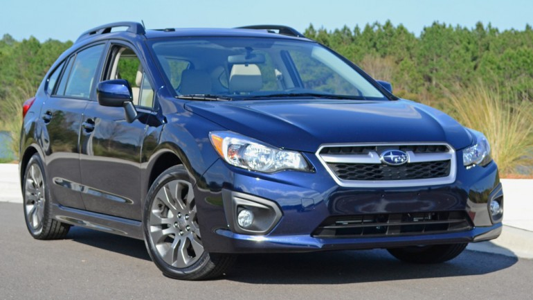 Even Rambo would be impressed with 2014 Subaru Impreza 2.0i Sport Limited