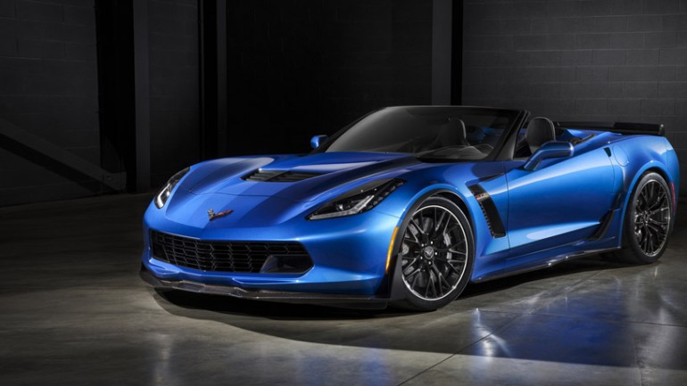 Fast and Topless: 2015 Chevrolet Corvette Z06 Convertible Revealed