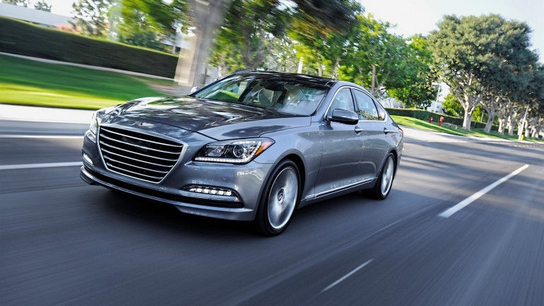 2015 Hyundai Genesis Sedan Starting Price Set at $38,000