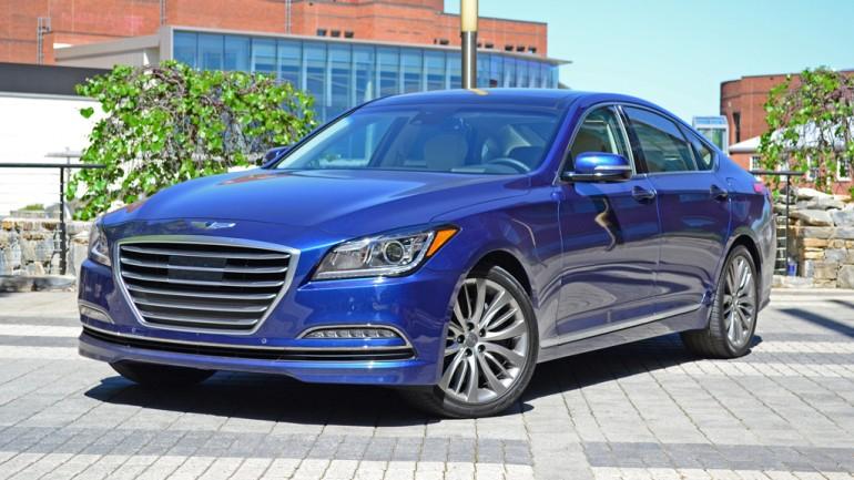 2015 Hyundai Genesis Sedan First Drive Impressions