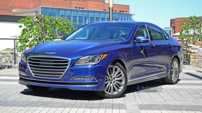 2015 Hyundai Genesis Sedan Impresses