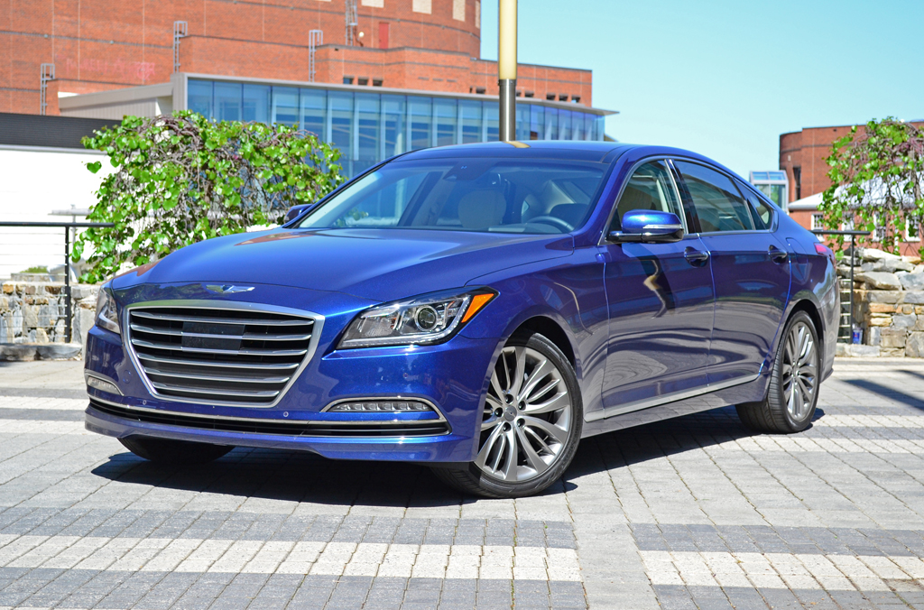 2015 hyundai genesis sedan first drive impressions. Black Bedroom Furniture Sets. Home Design Ideas
