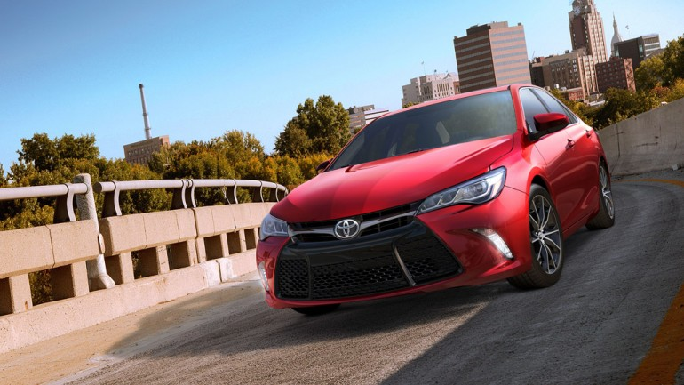 Completely Redesigned 2015 Toyota Camry Revealed at 2014 New York Auto Show