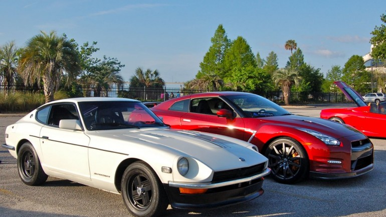 In Our Garage: Then and Now 1971 Datsun 240z and 2015 Nissan GT-R Premium