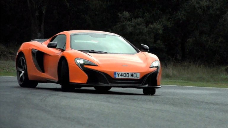 Chris Harris Drives McLaren 650S And Gets A full Tech Run-Down