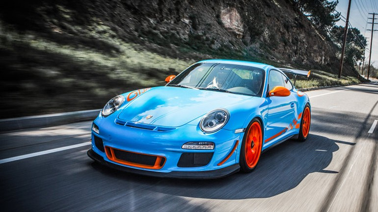 SharkWerks 2011 Porsche 911 997 GT3 RS In Jay Leno's Garage: Video