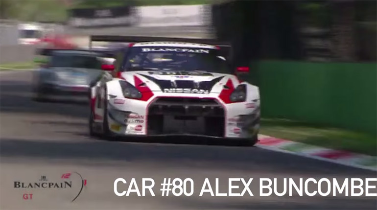 Nissan GT-R NISMO Race Car Dominates at Monza With Crazy Overtakes: Videos