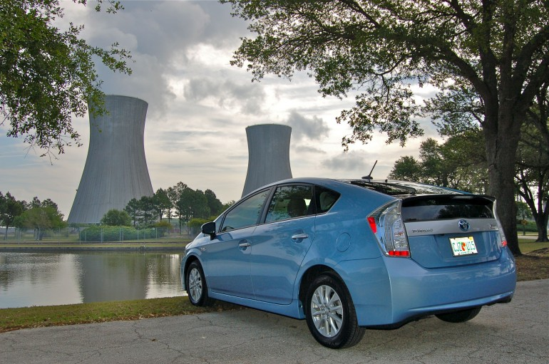 2014 Prius Plug In Power Plant Rear
