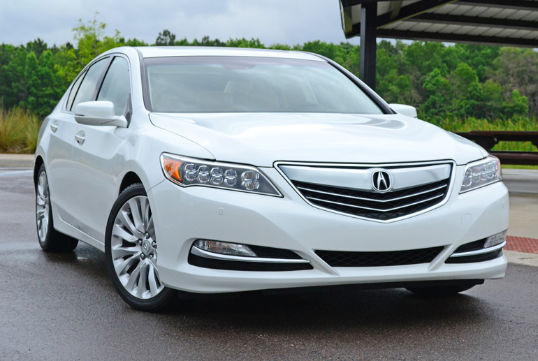 2014 acura rlx advance review test drive. Black Bedroom Furniture Sets. Home Design Ideas